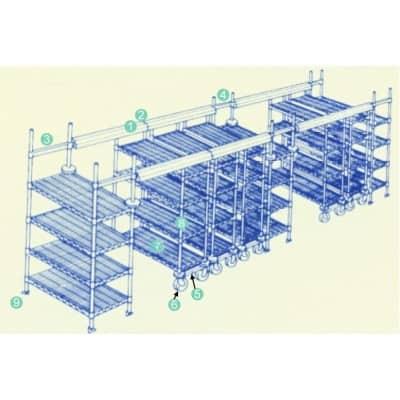 High Storage Track System – accessories